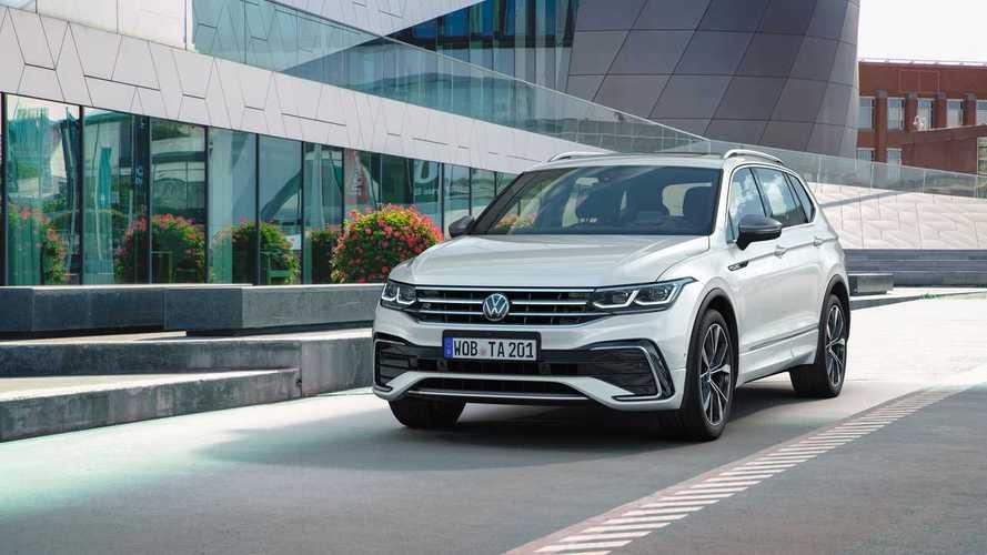 7-местный Volkswagen Tiguan Allspace стал еще чуть крупнее