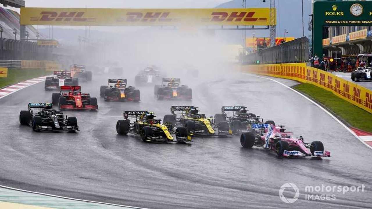 Turkish GP 2020 race start