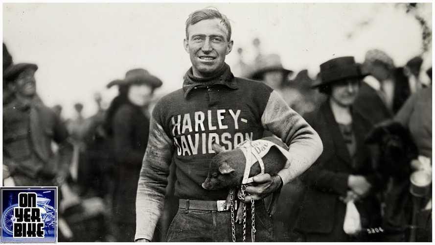 Kisah Pembalap Ray Weishaar dan Maskot Harley-Davidson