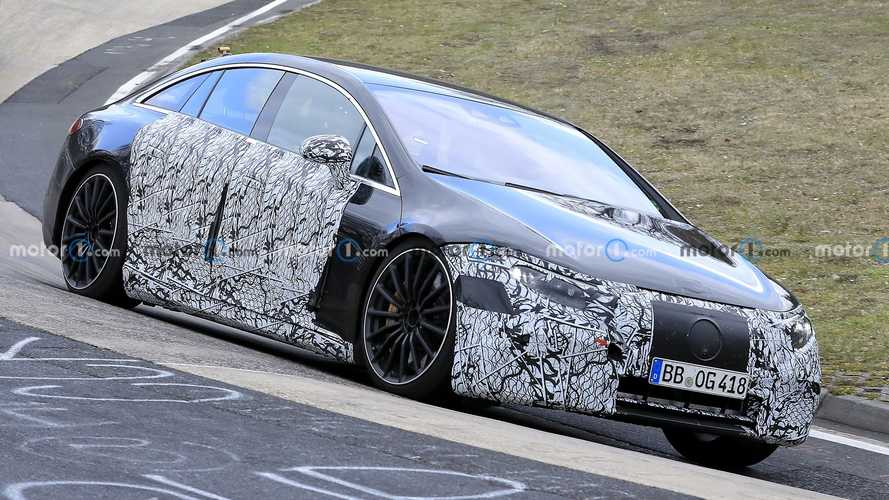 Mercedes-AMG EQS Spied For First Time As It Laps Nurburgring
