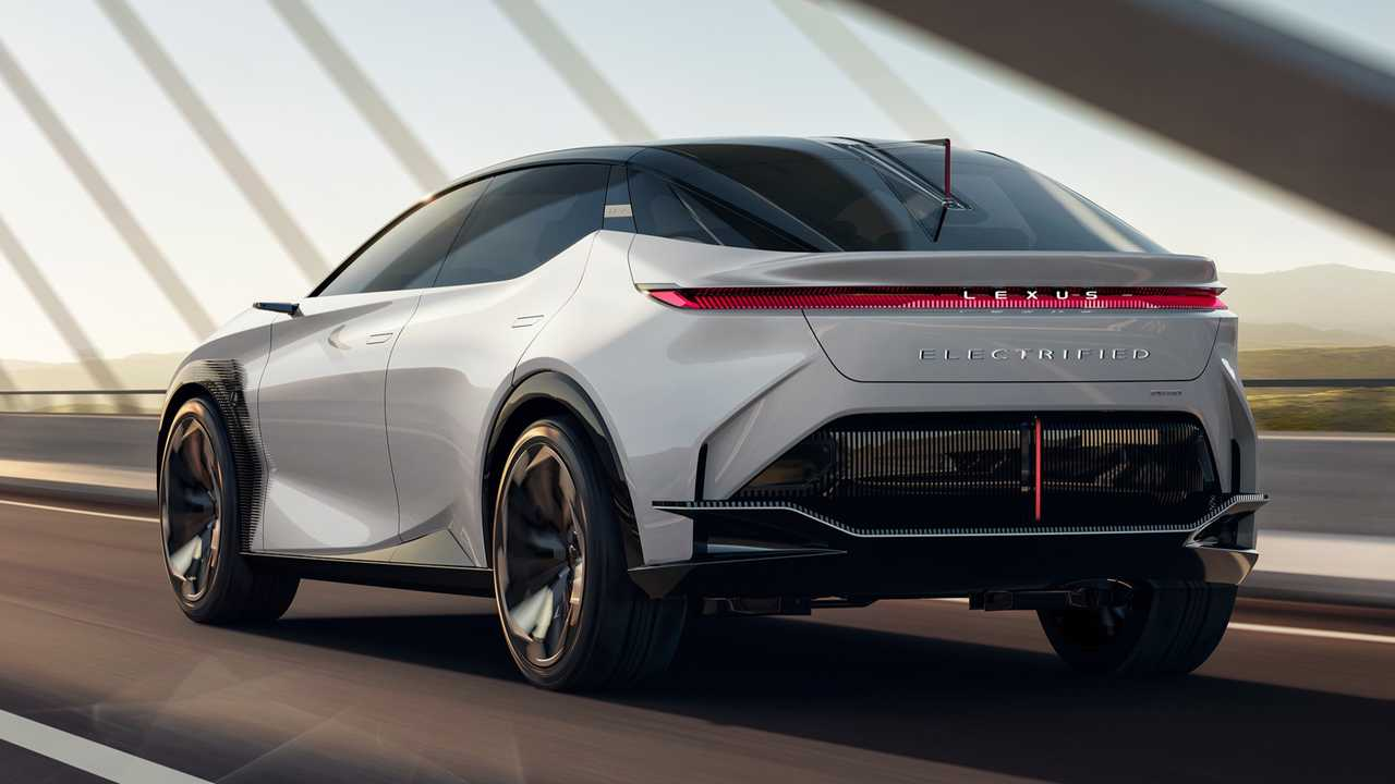 Concetto elettrificato Lexus LF-Z