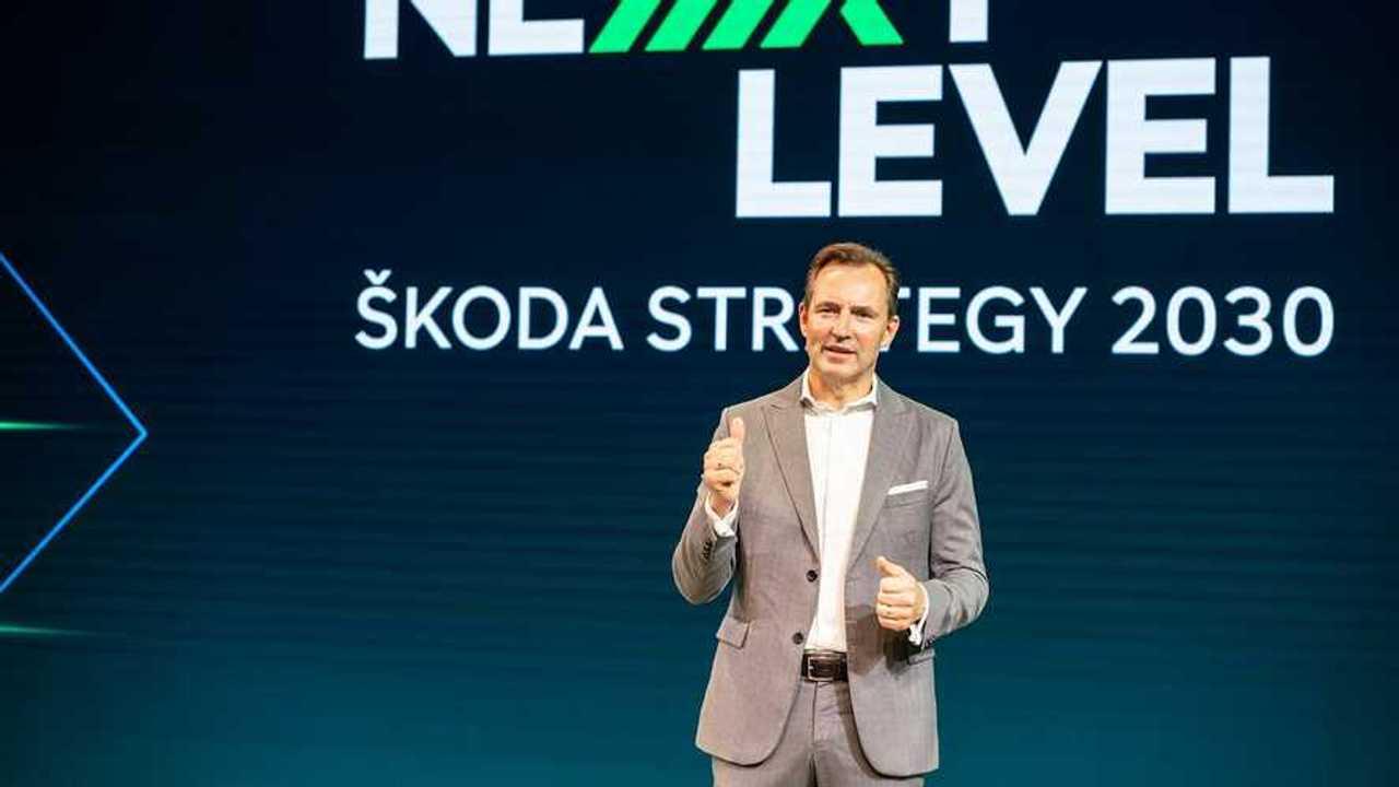 Skoda-Vorstandsvorsitzender Thomas Schäfer stellte die neue Strategie vor