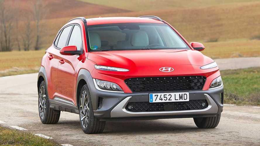 Hyundai Kona Hybrid restyling (2021)