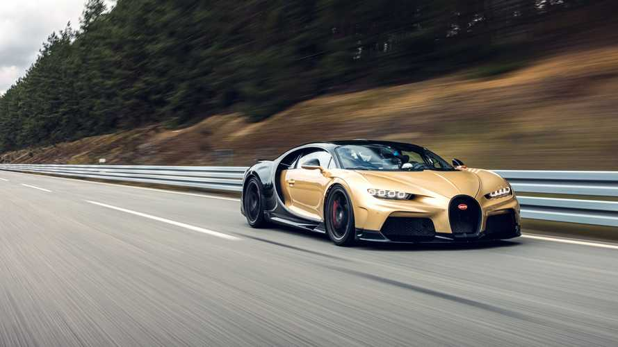 Bugatti Chiron Super Sport, i test a 440 km/h