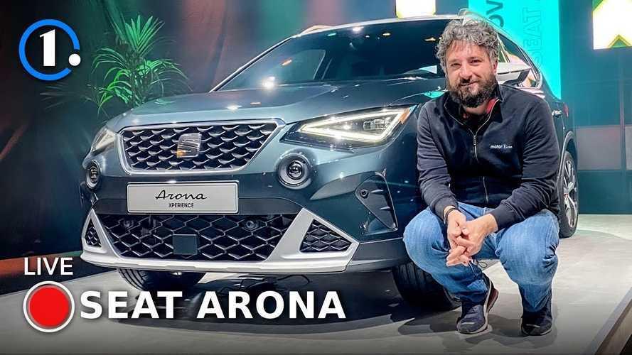 Seat Arona, il restyling all'insegna della tecnologia dal vivo