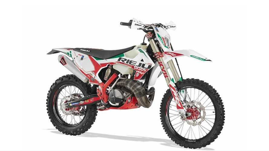 Rieju Marks 2021 ISDE With A Special Edition MR 300 Racing