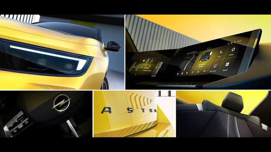 Тизеры Opel Astra