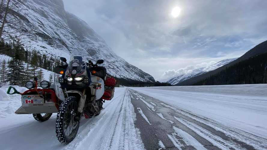 Canadian Adventurer Rides All The Way To Argentina And Back