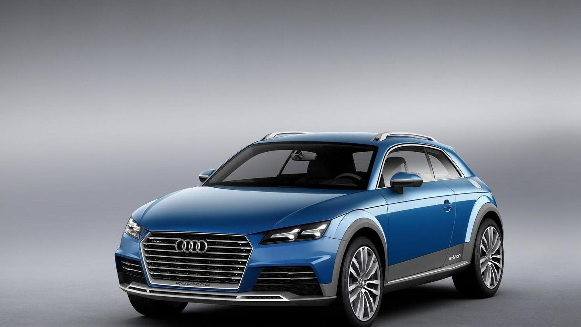 Audi Allroad Shooting Brake Concept Officially Revealed With 408 Hp Plug In Hybrid System