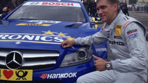 Vitaly Petrov supporting the DTM premiere in Russia Moscow 21.07.2013 City Racing