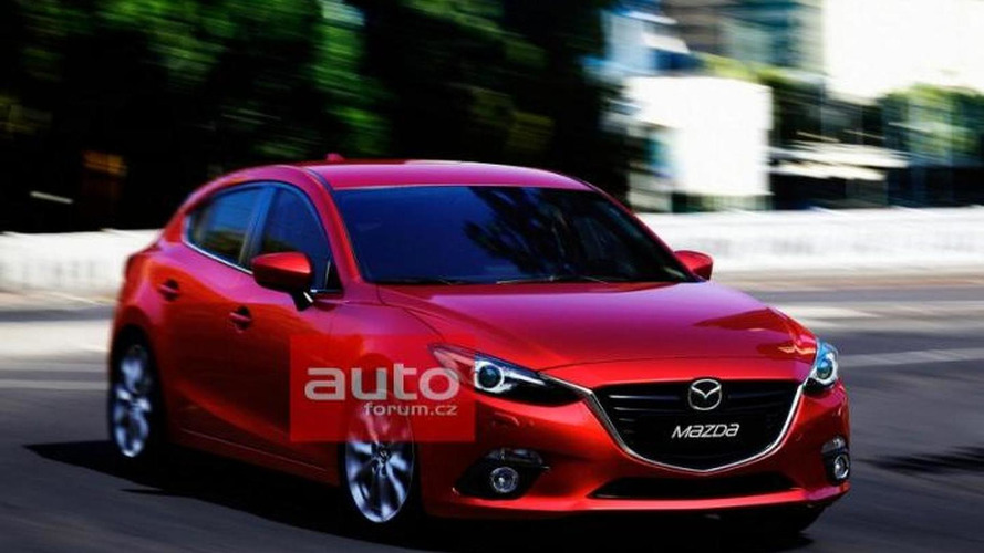 2014 Mazda3 fully leaked