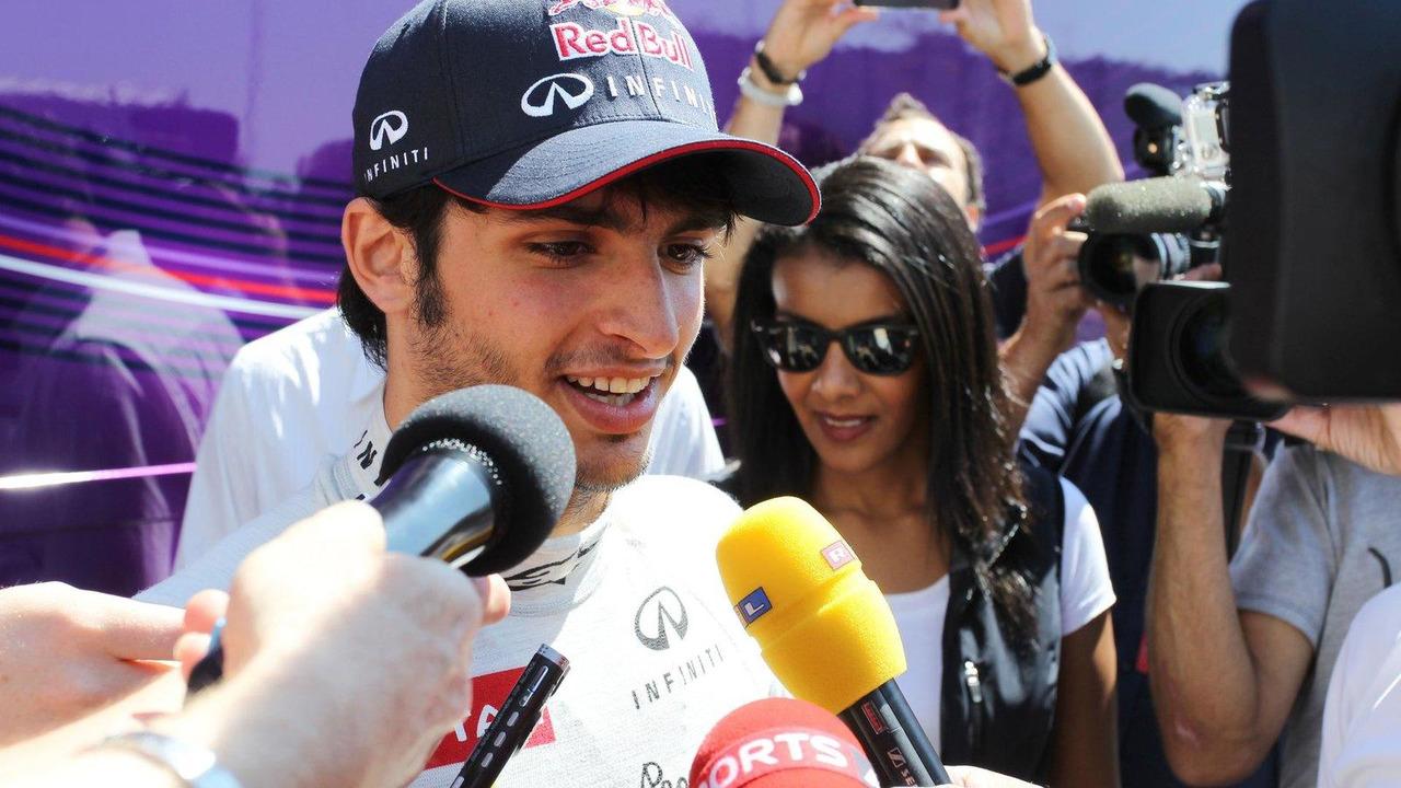 Carlos Sainz Jnr 19.07.2013 Formula One Young Drivers Test Silverstone England