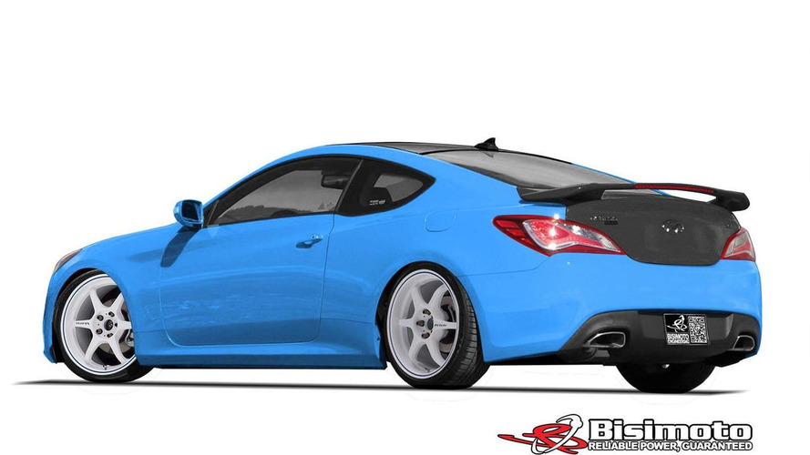 Hyundai & Bisimoto unveil their 1000 bhp Genesis Coupe at SEMA [video]