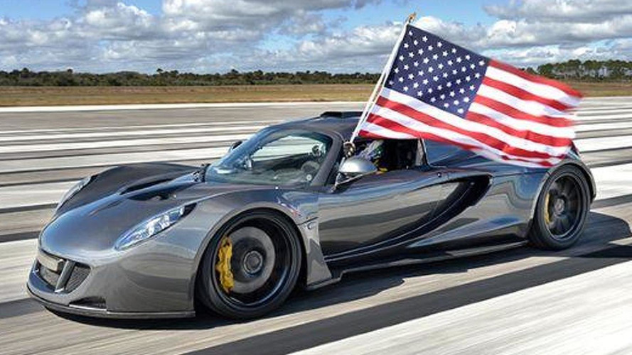 Hennessey Venom GT hits 270.49 mph at Kennedy Space Center [video]