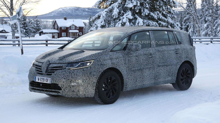 2015 Renault Espace spied showing new details