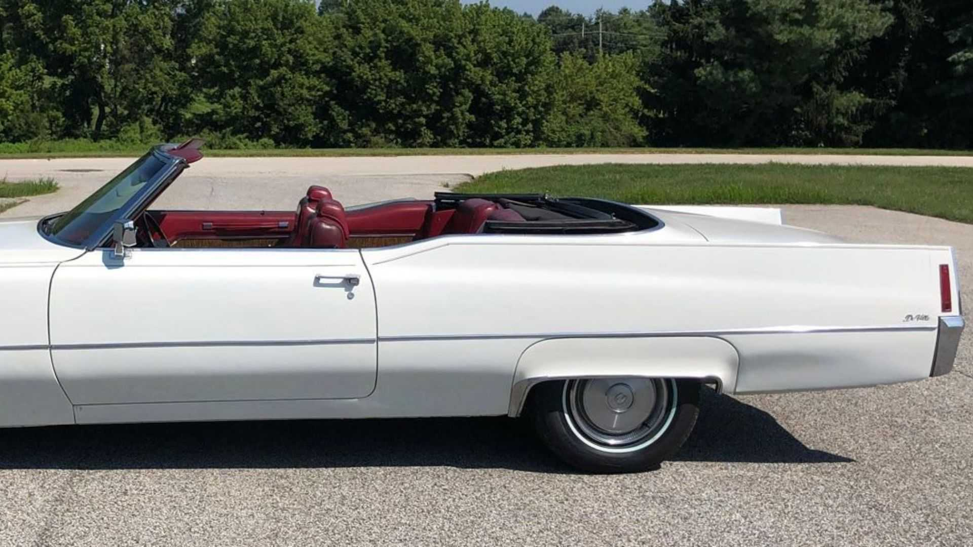 Shock And Awe With A 1970 Cadillac DeVille Convertible