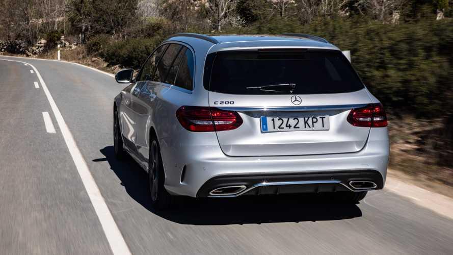 Prueba Mercedes Clase C 200 Estate 2019, con hibridación ligera