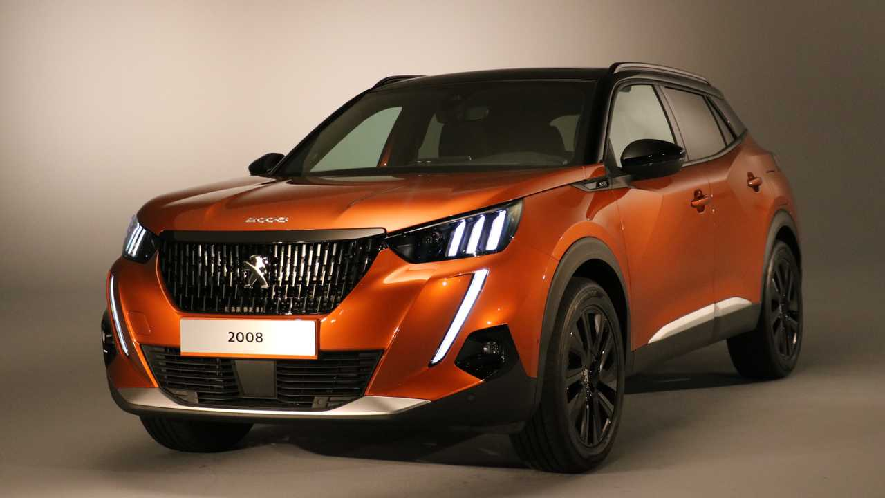 2020 peugeot 2008 debuts with bold suv looks ev option. Black Bedroom Furniture Sets. Home Design Ideas