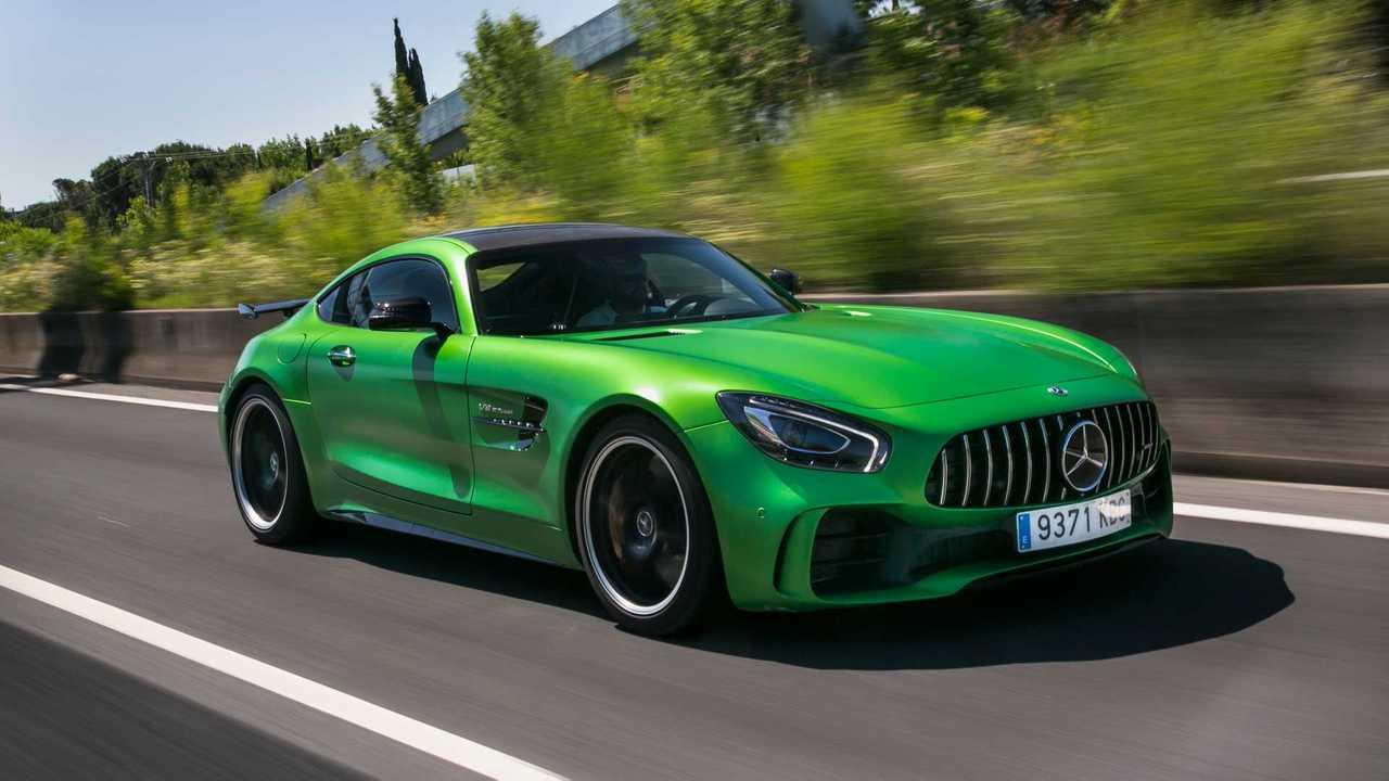 Mercedes-AMG GT Coupé 2019 prueba