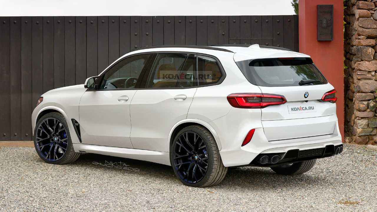 2020 Bmw X5 M Puts Production Clothes In New Renderings