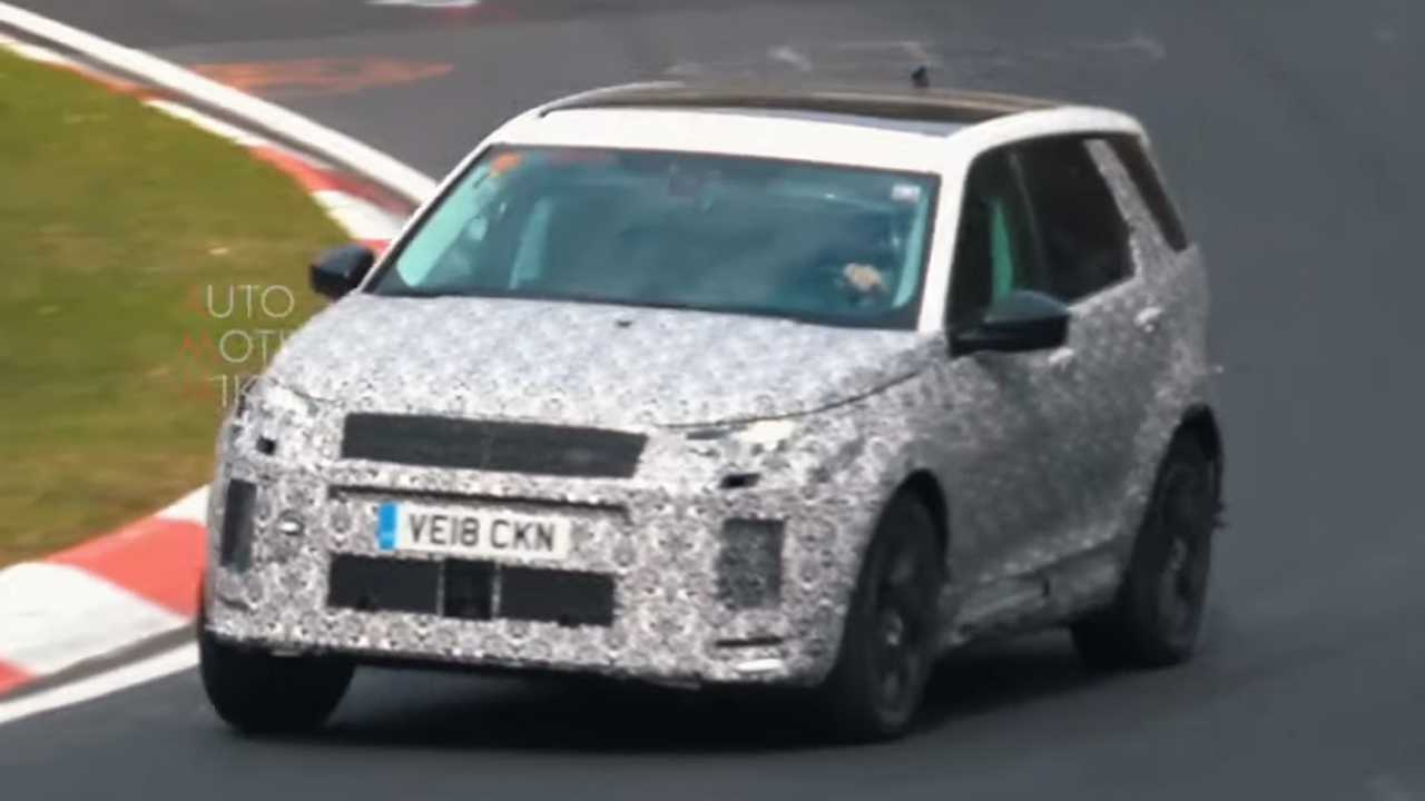 Land Rover Discovery Sport Nurburgring test
