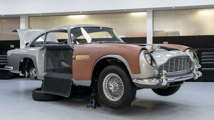 Aston Martin Goldfinger DB5 Continuation Series now in production