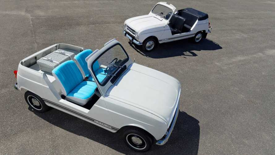 Renault e-Plein Air electric unites the past and the future