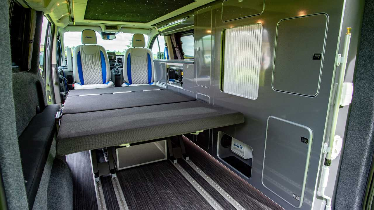 Ford Transit Camper Chock Full Of Upgrades Costs Nearly 100 000