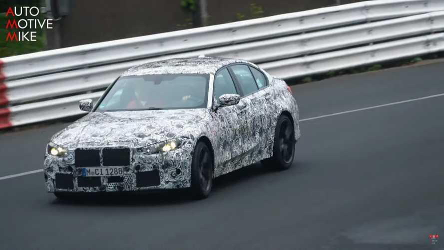VIDÉO - Le développement de la BMW M3 se poursuit