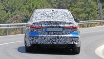 Audi S3 Saloon spy photos