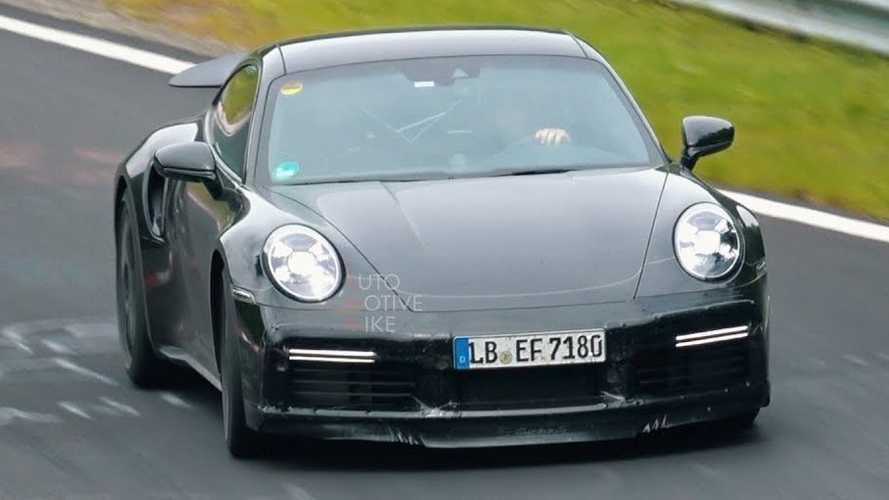 Next Porsche 911 Turbo Spied Extensively In Two Videos