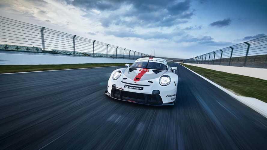 El nuevo Porsche 911 RSR 2019 del WEC, desvelado en Goodwood