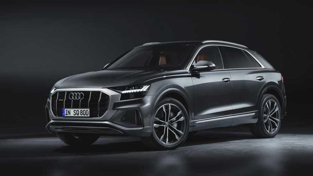 Audi SQ8 Debuts With Blazing 429-HP Turbodiesel Mild Hybrid