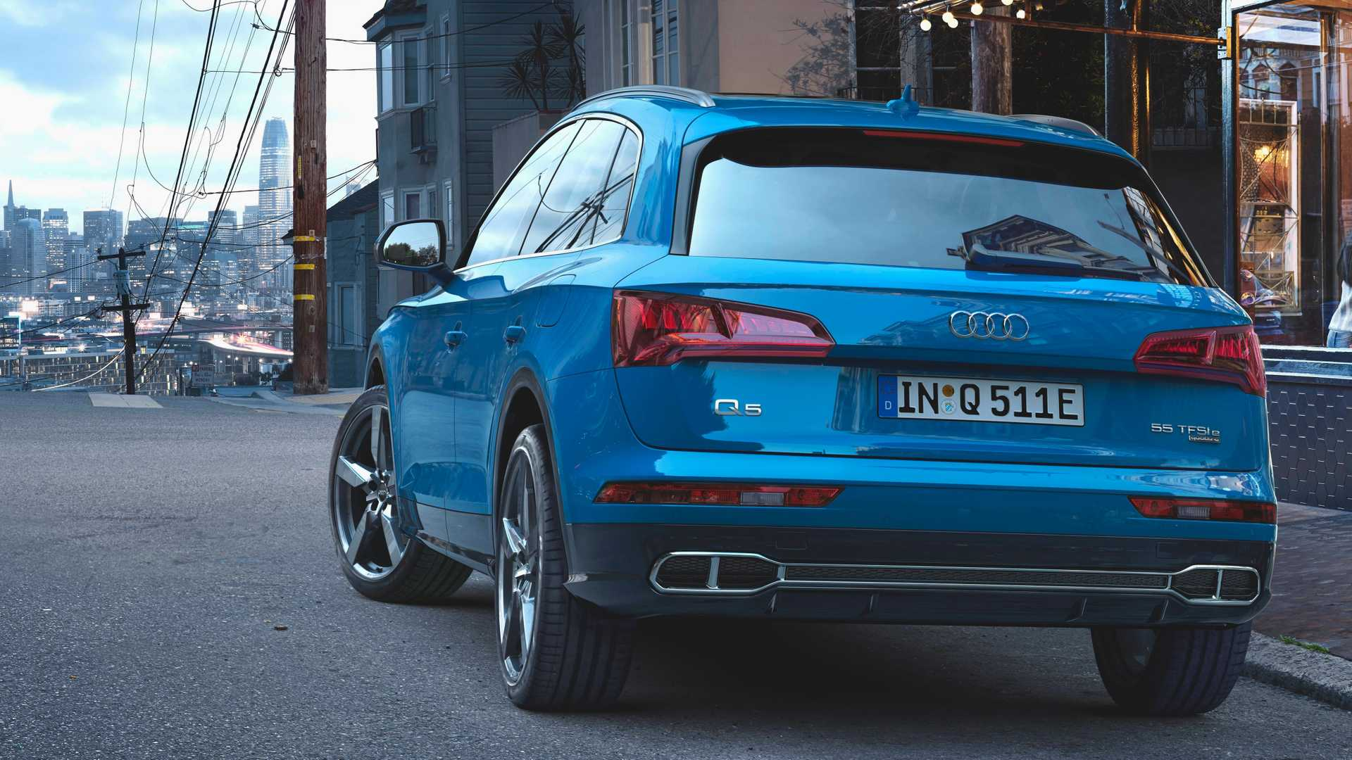 2018 Audi Q5 Hybrid: News, Powertrain, Arrival >> Audi Q5 55 Tfsi E Quattro Debuts With Plug In Hybrid Powertrain