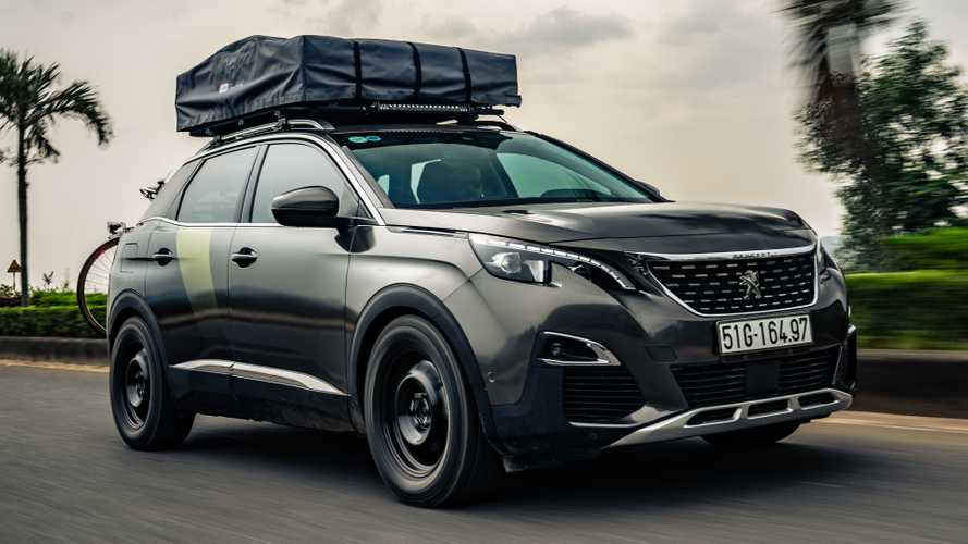 Peugeot teams up with Top Gear to create 'adventure version' of the 3008