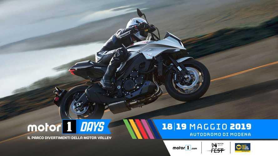 Suzuki protagonista al Motor1Days 2019