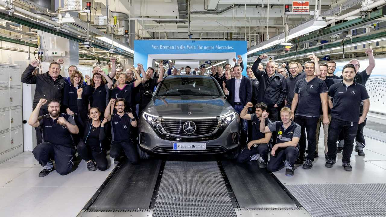 Mercedes-Benz EQC production start