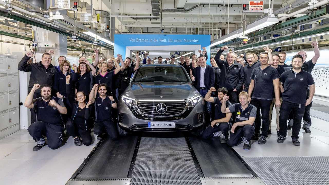 Mercedes-Benz EQC sorozatgyártás