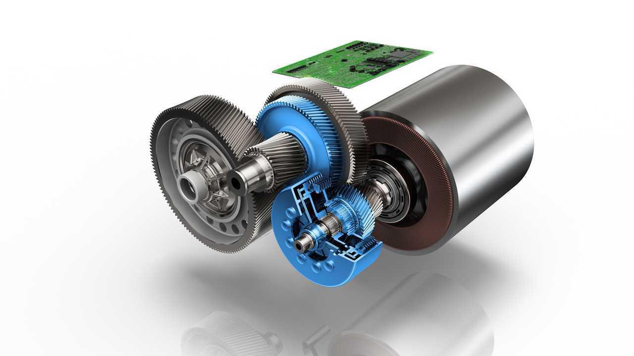 Elektrikli Binek Otomobilleri için ZF 2-Speed Drive