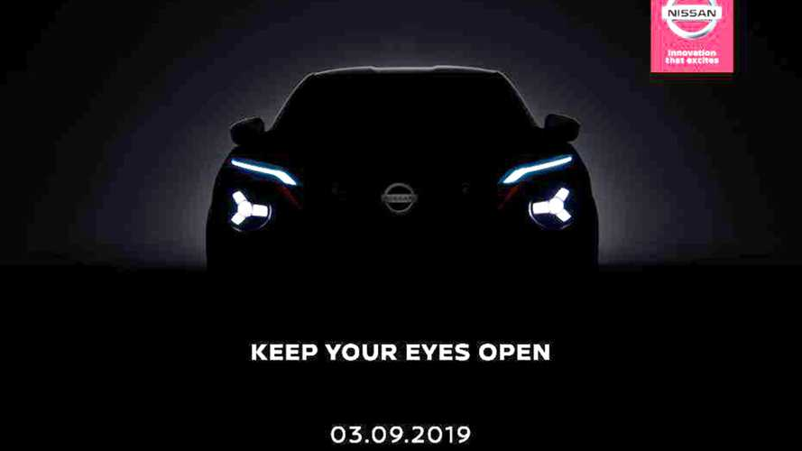 2020 Nissan Juke teased under cover of darkness