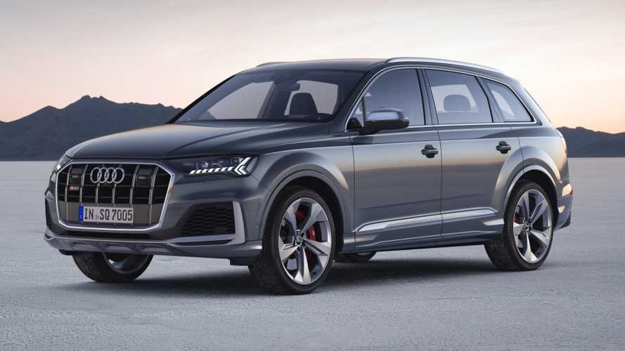 2020 Audi SQ7 TDI revealed with fresh design, torque-rich V8 diesel