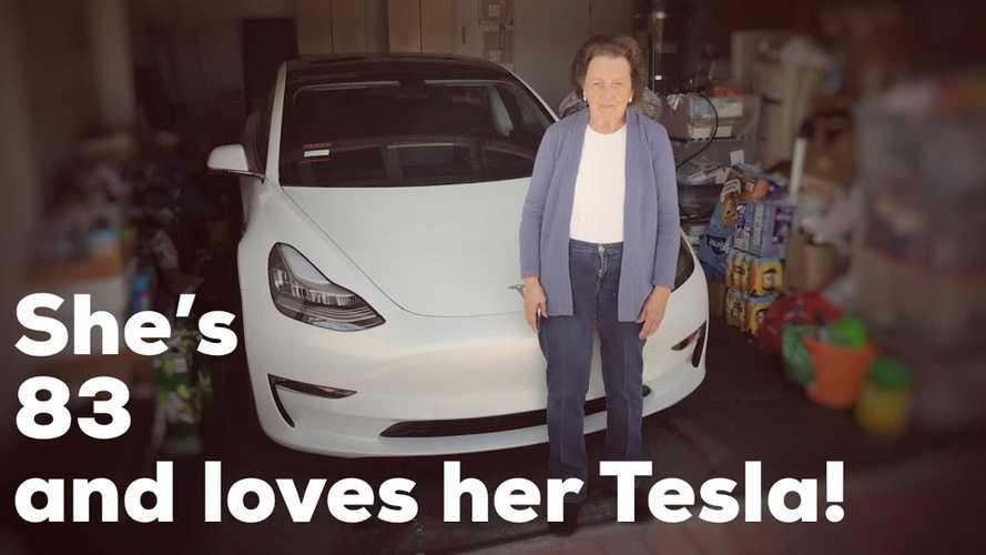 83 Year Old Grandma Says Bye Bye To Buick, Hello To Tesla Model 3