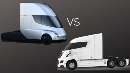 How Does The Tesla Semi Compare To The Nikola Two Electric Hauler?