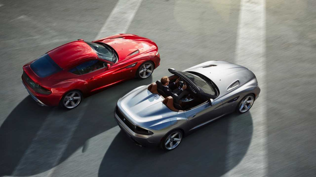 BMW Zagato Coupe and Roadster