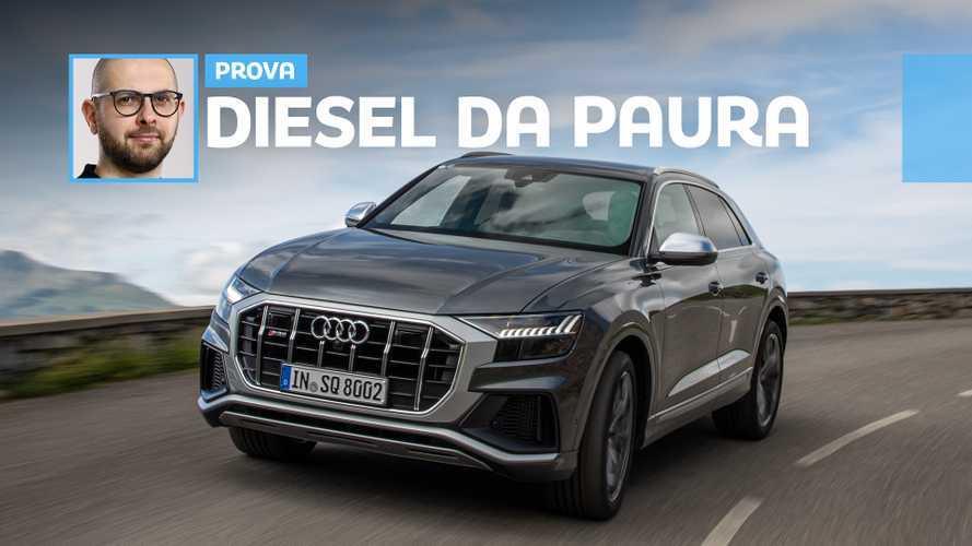 Audi SQ8 TDI, come va il diesel più potente d'Europa