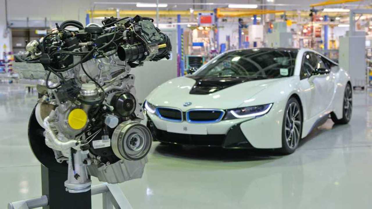 Three cylinder engine for BMW i8 built at BMW Plant Hams Hall UK