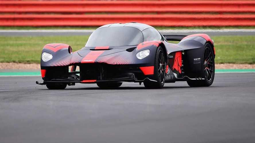 Silverstone-ban bemutatkozott az Aston Martin Valkyrie