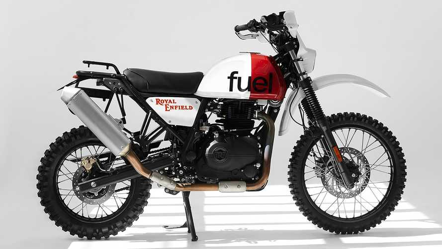 Fuel Lightly But Perfectly Customizes A Royal Enfield Himalayan