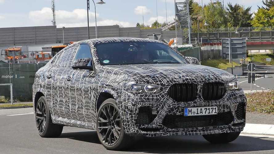 Videó: keményen izzasztják az új BMW X6-ot a Nürburgringen