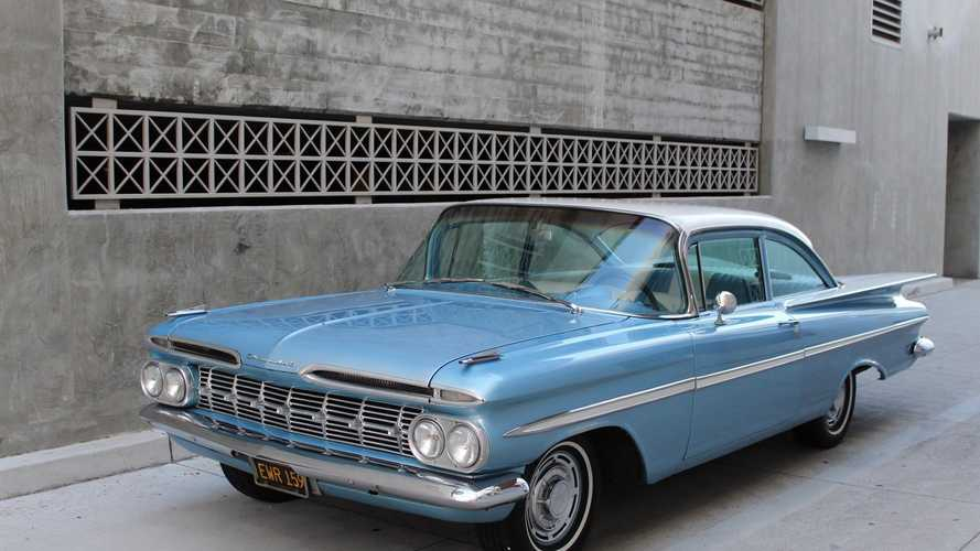Cool Off Summer With A Frost Blue 1959 Chevrolet Bel Air